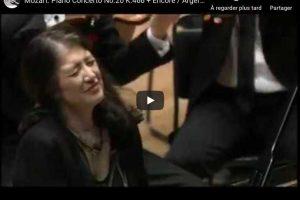 Mozart – Piano Concerto No. 20 – Martha Argerich