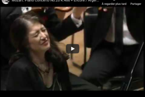 Mozart – Piano Concerto No 20 in D Minor – Argerich, Piano