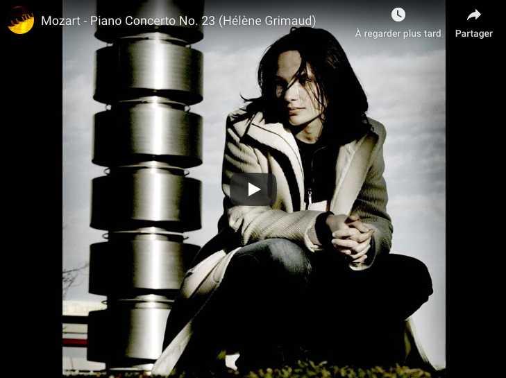 Mozart - Piano Concerto No 23 in A major - Grimaud, Piano