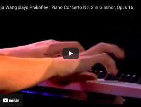 Prokofiev - Piano Concerto No 2 in G Minor - Wang, Piano