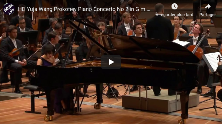 Prokofiev - Piano Concerto No 2 in G Minor - Wang, Piano