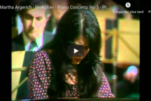 Prokofiev – Piano Concerto No 3 in C Major – Argerich, Piano