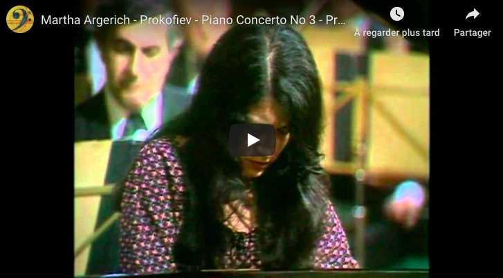 Prokofiev - Piano Concerto No 3 in C Major - Argerich, Piano
