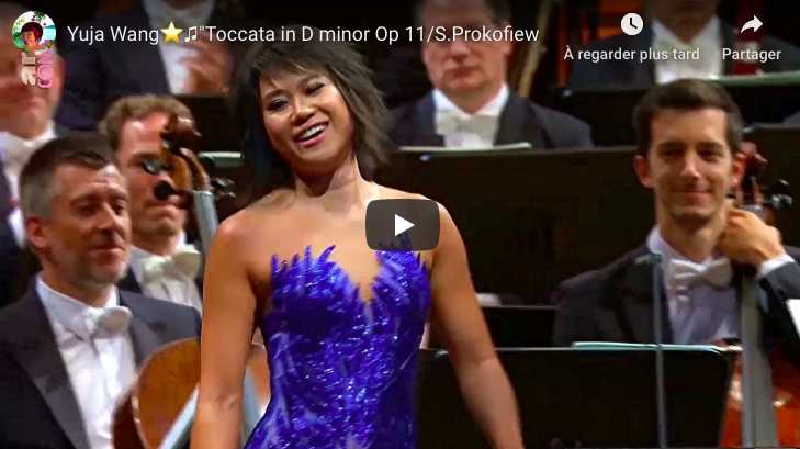 Prokofiev - Toccata in D Minor - Yuja Wang, Piano