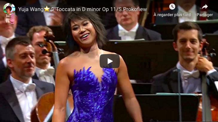 Prokofiev - Toccata in D Minor - Yuja Wang, Piano