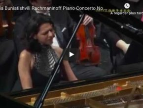 Rachmaninoff - Concerto No 2 in C Minor- Khatia Buniatishvili, Piano