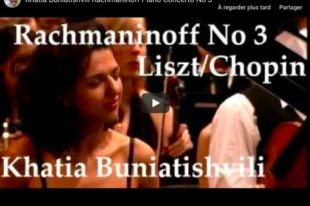 Rachmaninoff - Piano Concerto No 3 in D Minor- Buniatishvili, Piano