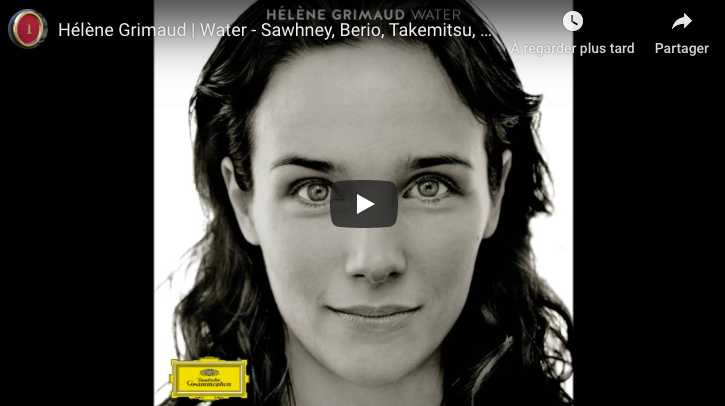 Ravel - Jeux d'Eau in E Major - Grimaud, Piano