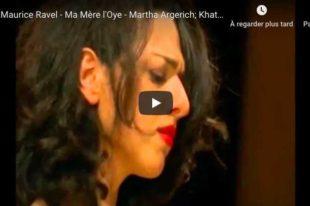 Ravel - Ma Mère l'Oye - Argerich & Buniatishvili, Piano