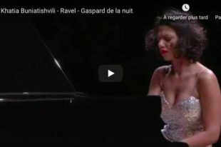 Ravel - Scarbo - Buniatishvili, Piano