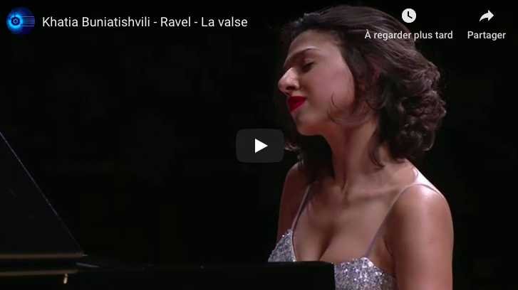 Ravel - La Valse - Buniatishvili, Piano