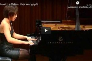 Ravel – La Valse – Wang, Piano