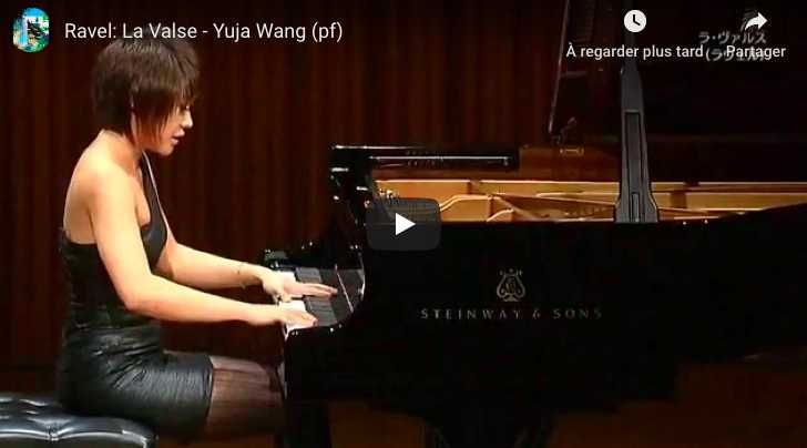 Ravel - La Valse - Wang, Piano