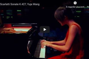 Scarlatti - Sonata K. 427 in G Major - Wang, Piano