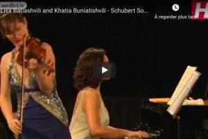 Schubert – Violin Sonata No. 4 – Buniatishvili; Batiashvili