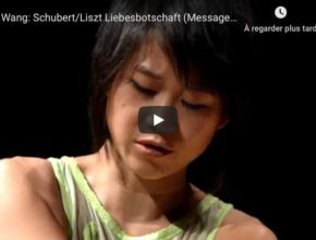 Schubert-Liszt - Liebesbotschaft (Message of Love) - Wang, Piano