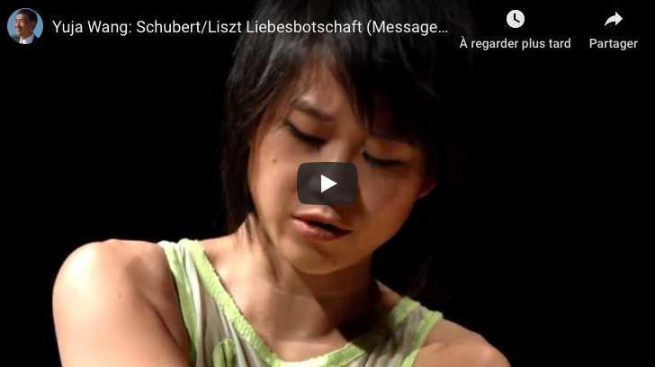 Schubert-Liszt - Liebesbotschaft (Message of Love) - Wang, Piano