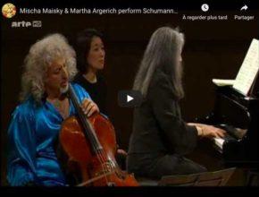 Schumann - Adagio and Allegro - Argerich, Piano; Maisky, Cello