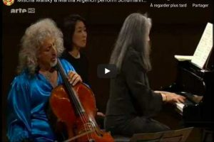Schumann – Adagio and Allegro – Argerich, Piano; Maisky, Cello