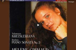 Schumann - Kreisleriana I (Auberst Bewegt) - Grimaud, Piano