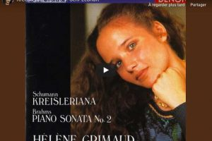 Schumann – Kreisleriana V (Sehr Lebhaft) – Grimaud, Piano