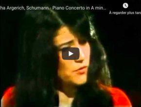 Schumann - Piano Concerto in A Minor - Martha Argerich, Piano