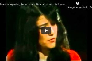Schumann – Piano Concerto in A Minor – Martha Argerich