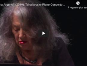 Tchaikovsky - Piano Concerto No 1 - Martha Argerich, Piano