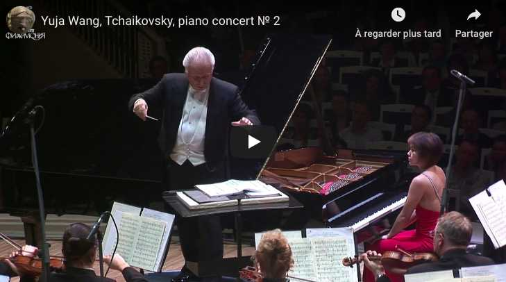 Tchaikovsky - Piano Concerto No 2 - Wang, Piano