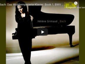 Bach - Prelude No 2, Book I - Hélène Grimaud, Piano