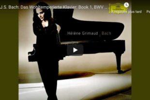 Bach - Prelude No. 2, Book I - Grimaud, Piano