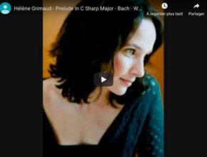 Bach - Prelude No 3, Book II - Hélène Grimaud, Piano
