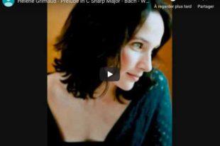 Bach - Prelude No. 3, Book II - Grimaud, Piano