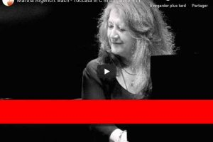 Bach – Toccata in C Minor BWV 911 – Argerich, Piano