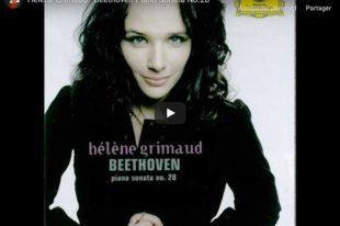 Beethoven - Piano Sonata No 28 in A Major - Grimaud, Piano