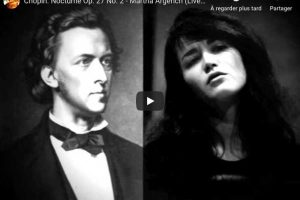 Chopin – Nocturne No. 8 – Martha Argerich, Piano
