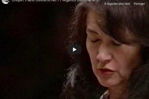 Chopin – Piano Concerto No. 1 – Martha Argerich