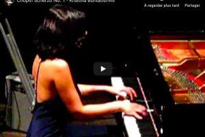 Chopin – Scherzo No. 1 – Buniatishvili, Piano
