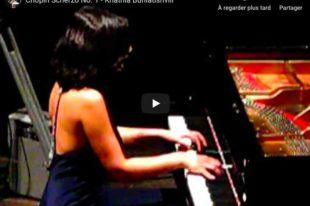 Chopin - Scherzo No. 1 - Buniatishvili, Piano