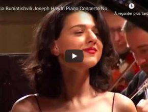 Haydn - Piano Concerto No 11 in D Major - Khatia Buniatishvili, Piano
