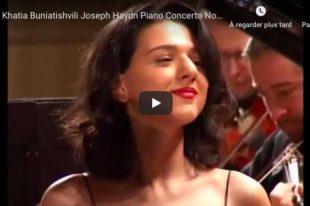 Haydn - Piano Concerto No. 11 - Khatia Buniatishvili