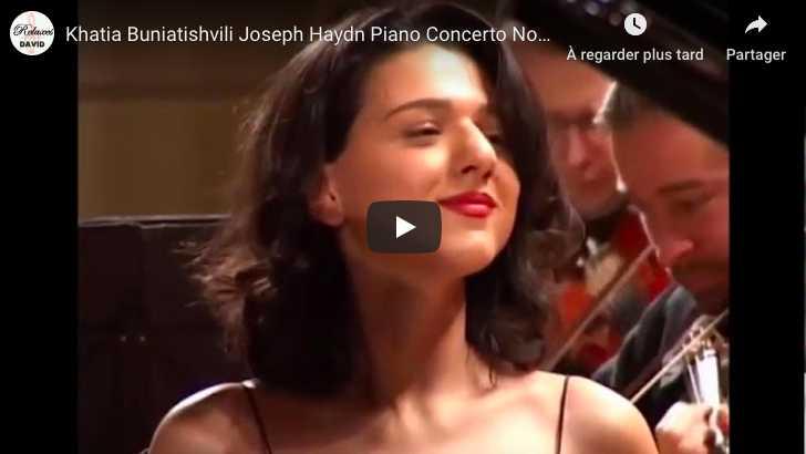 Haydn - Piano Concerto No 11 in D Major - Khatia Buniatishvili, Piano
