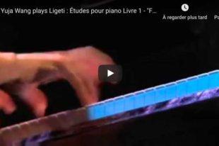 Ligeti - Etude No 4, Fanfares - Wang, Piano