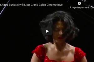 Liszt – Grand Galop Chromatique – Buniatishvili, Piano