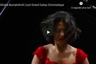 Liszt - Grand Galop Chromatique - Buniatishvili, Piano