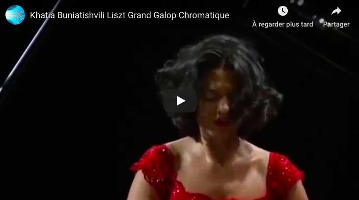 Liszt - Grand Galop Chromatique - Khatia Buniatishvili, Piano