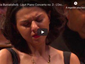 Liszt - Piano Concerto No 2 in A Major - Khatia Buniatishvili, Piano