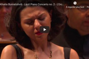 Liszt - Concerto for Piano No. 2 - Khatia Buniatishvili