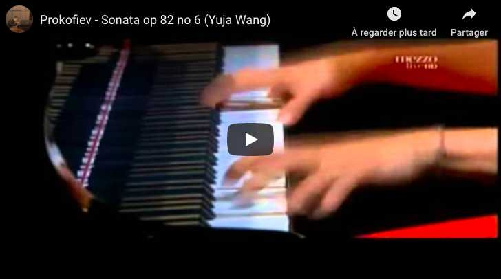 Prokofiev - Sonata No 6 in A Major - Yuja Wang, Piano