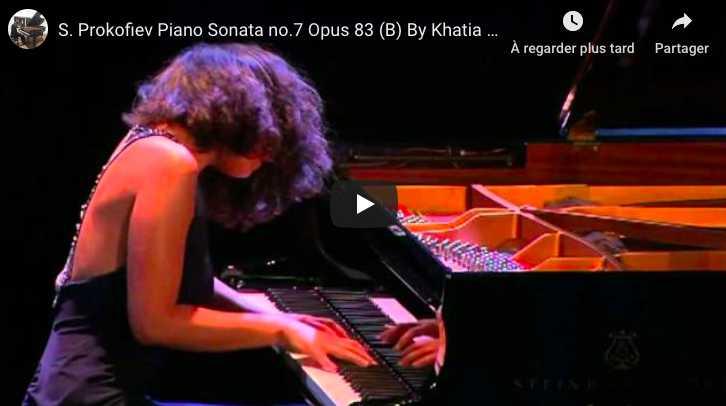 Prokofiev - Sonata No 7 - Khatia Buniatishvili, Piano